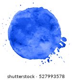 colorful abstract watercolor... | Shutterstock .eps vector #527993578