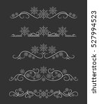 vector text dividers with white ...   Shutterstock .eps vector #527994523