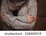hugging when cold weather | Shutterstock . vector #528000919