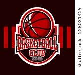 logo symbol badge basketball...   Shutterstock .eps vector #528031459