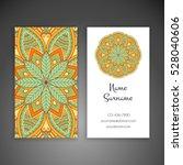 business card. vintage...   Shutterstock .eps vector #528040606