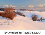 winter landscape near the... | Shutterstock . vector #528052300
