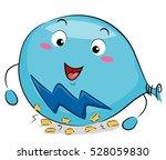 science themed illustration of... | Shutterstock .eps vector #528059830