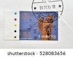macao   circa 2013  a stamp... | Shutterstock . vector #528083656