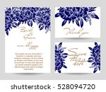 romantic invitation. wedding ... | Shutterstock . vector #528094720
