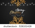 christmas background black... | Shutterstock .eps vector #528101428