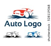 simple cool automotive car logo ... | Shutterstock .eps vector #528119368