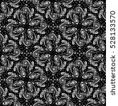 hand drawn paisley pattern.... | Shutterstock . vector #528133570