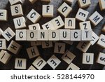 Small photo of CONDUCT word concept