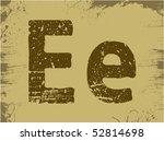 grunge abc.   Shutterstock .eps vector #52814698