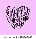 happy valentine's day... | Shutterstock .eps vector #528147640