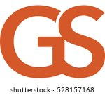 type icon using the letter g... | Shutterstock .eps vector #528157168