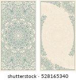 set of wedding invitations or... | Shutterstock .eps vector #528165340