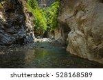 mountain river gorge near panta ... | Shutterstock . vector #528168589