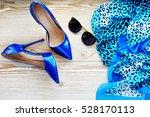 women's accessories. concept of ... | Shutterstock . vector #528170113