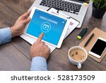 video lesson concept on screen | Shutterstock . vector #528173509