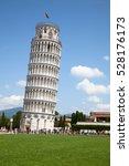 leaning tower of pisa  italy | Shutterstock . vector #528176173