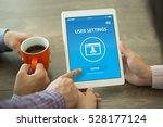 user settings concept on screen | Shutterstock . vector #528177124