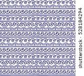 vector greek wave and meander...   Shutterstock .eps vector #528184294