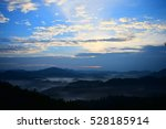 title   mountain with sunrise | Shutterstock . vector #528185914