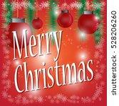 vector christmas design... | Shutterstock .eps vector #528206260