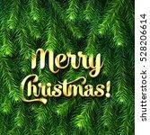 christmas   new year winter... | Shutterstock .eps vector #528206614