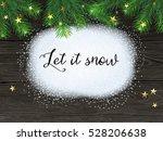 christmas   new year winter... | Shutterstock .eps vector #528206638