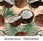 beautiful seamless vector... | Shutterstock .eps vector #528236560