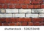 Two Tone Brick Background.