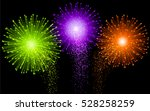 festive brightly colorful... | Shutterstock .eps vector #528258259
