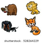 vector illustration of a four... | Shutterstock .eps vector #528264229