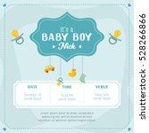 Baby Boy Shower Card....