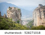 color image of a monastery in... | Shutterstock . vector #528271018
