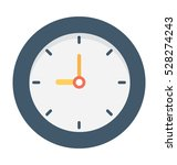 clock vector icon | Shutterstock .eps vector #528274243
