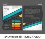 vector infographics brochure... | Shutterstock .eps vector #528277300
