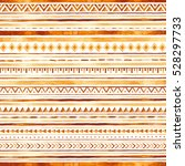 ethnic texture ornament with... | Shutterstock . vector #528297733