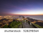 view from corcovado mountain to ... | Shutterstock . vector #528298564