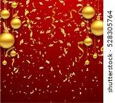 luxury elegant merry christmas... | Shutterstock .eps vector #528305764