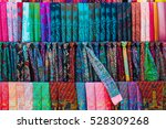 traditional colorful silk... | Shutterstock . vector #528309268