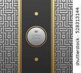 vertical banner template on...   Shutterstock .eps vector #528313144