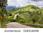 road to phu chi fa | Shutterstock . vector #528316048