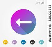 colored icon of arrow symbol... | Shutterstock .eps vector #528323938