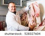 Adult Male Butcher In Kosher...