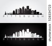 Pittsburgh Usa Skyline And...