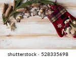 christmas gingerbread in the... | Shutterstock . vector #528335698