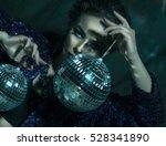 beautiful young sensual woman... | Shutterstock . vector #528341890