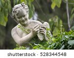 Stone Statue Of Pan At The...