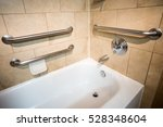 disability access bathtub in a... | Shutterstock . vector #528348604