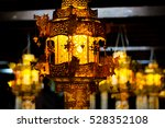 lamp or chandelier as if the... | Shutterstock . vector #528352108