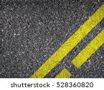 asphalt road texture with... | Shutterstock . vector #528360820